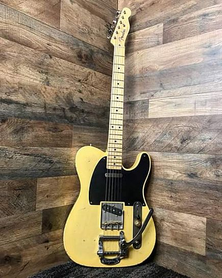 ad fender 52 ri telecaster with upgrades!
