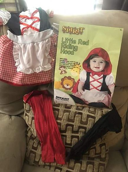 ad little red riding hood costume
