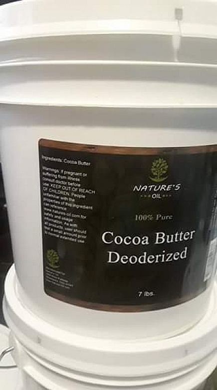 ad coco butter deodorized