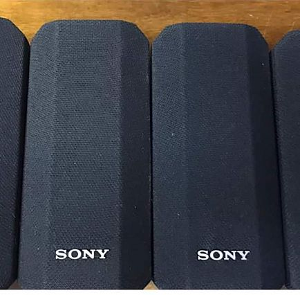 ad four sony speakers & wall mounts