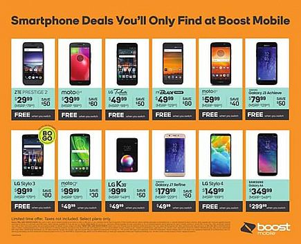 ad free phones when you switch to boost!!!