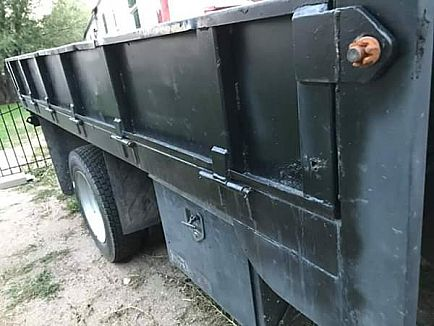 ad service utility flatbed