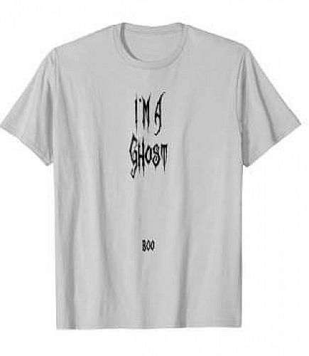 ad funny ghost halloween t-shirts