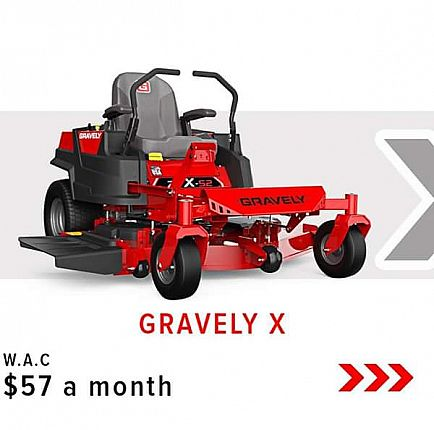 ad new zero turn mowers - financing available