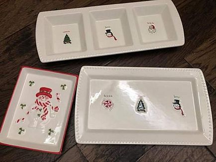 ad christmas cookie dishes
