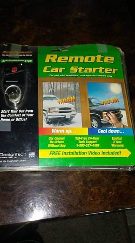 ad remote car starter