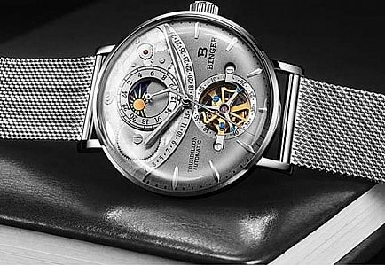 ad binger switzerland automatic mechanical men watches sapphire relogio masculino waterproof men watch