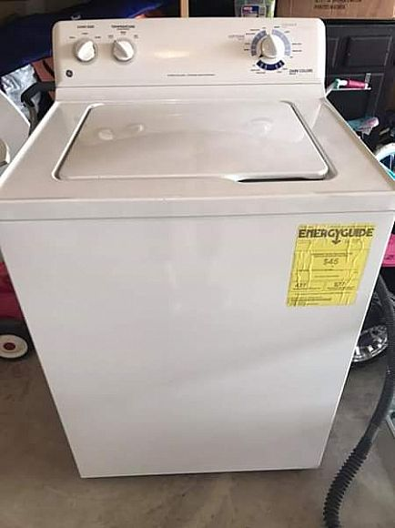 ad ge washer and dryer