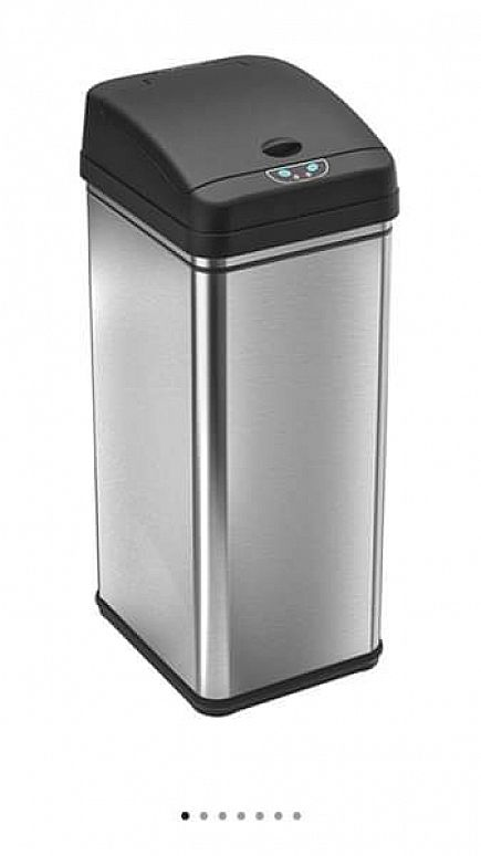 ad itouchless trash can deodorizer filtered infrared automatic