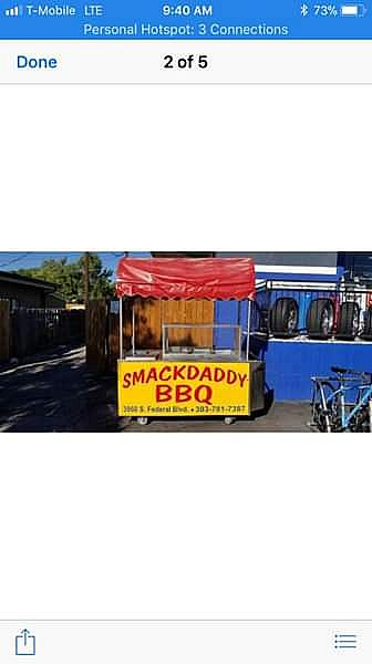 ad portable food stand/ food truck