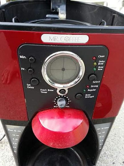 ad mr coffee electronic brewing system