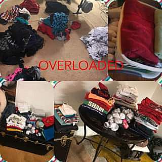 ad overloaded is a pick up/drop off laundry service. new local business in schenectady