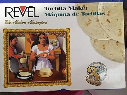 ad revel tortilla maker