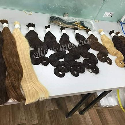 ad bulk hair extension, nice color , 20-24 inches