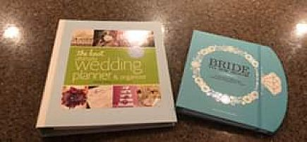 ad the knot wedding planner and bride to be book