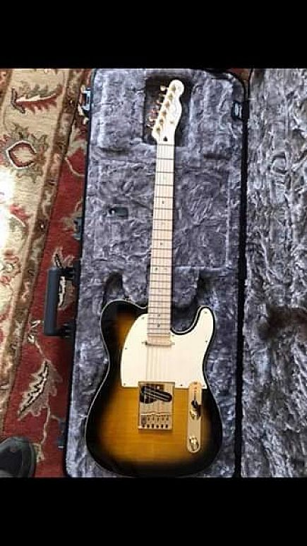 ad ** trade only** fender telecaster ritchie kotzen signature model