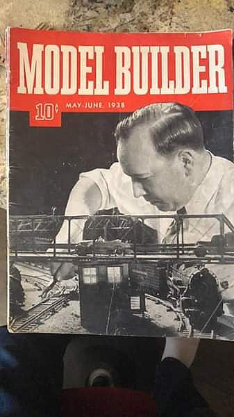 ad model builder magazines