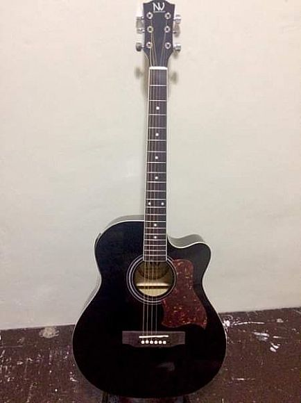 ad nashville acoustic electric w/ built in tuner & pick up!