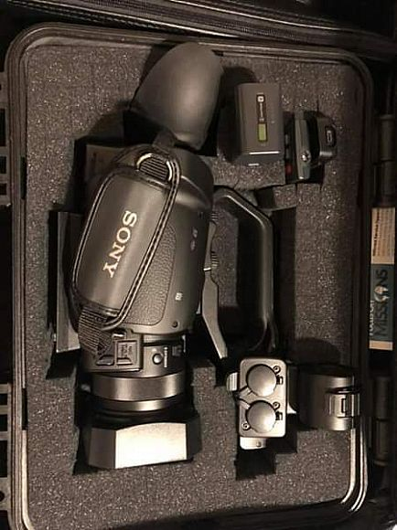ad sony pxw-x70 professional xdcam compact camcorder w/hardcase