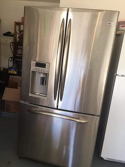 ad refrigerator...make me an offer!
