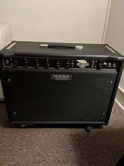 ad mesa boogie express 5:50 2x12 w/ cover and foot switch