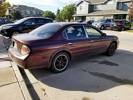 ad i'm selling my 2002 nissan maxima