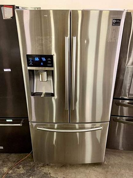 ad end of month liquidation sale!! samsung french door refrigerator
