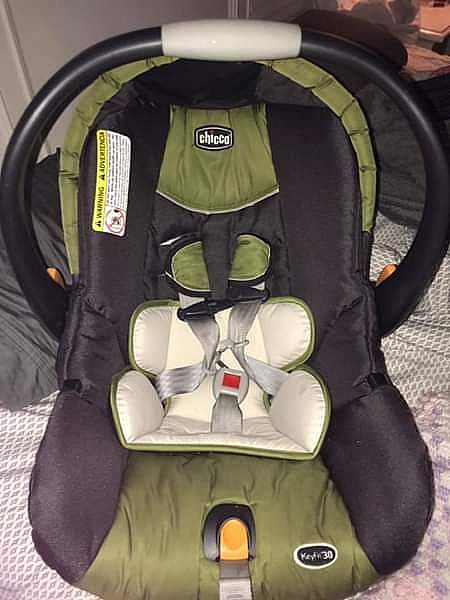 ad chicco keyfit 30 car seat with car seat base and chicco keyfit caddy stroller