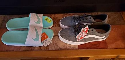 ad womens van's and nike brand new!!