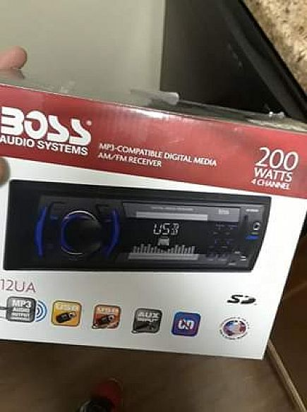 ad boss stereo with aux and usb brand new