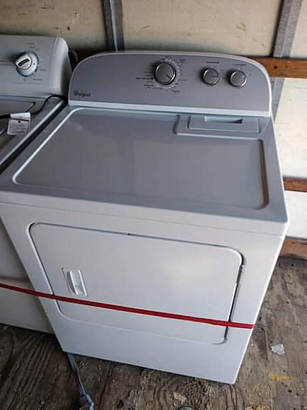 ad fridge washer and dryer