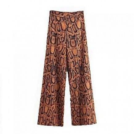 ad snake that chic wide leg trousers $45.99