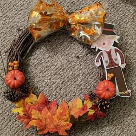 ad fall wreath