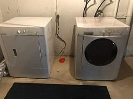 ad fridgidaire washer and dryer