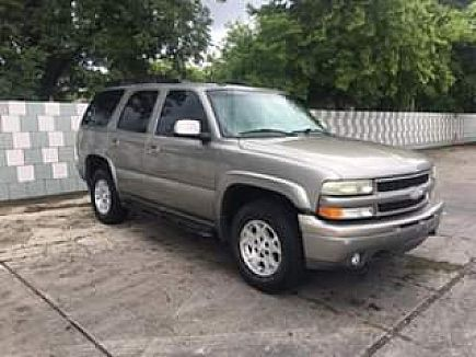 ad 03 chevy tahoe z71