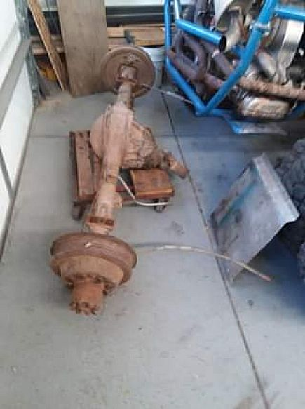 ad chevy truck rear axle