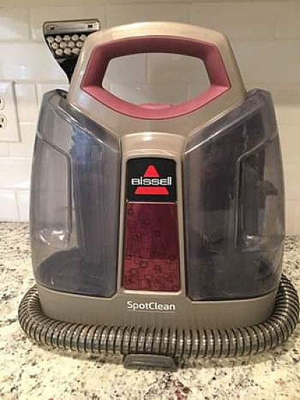 ad bissell spot cleaner