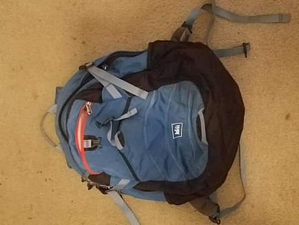 ad rei backpack. soft shell cooler.