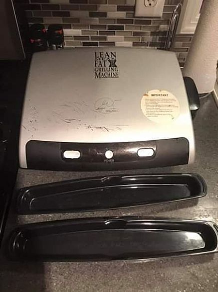 ad free george foreman grill