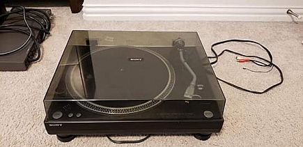 ad sony turntable