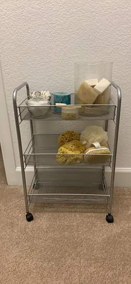 ad small bathroom caddy pending pickup