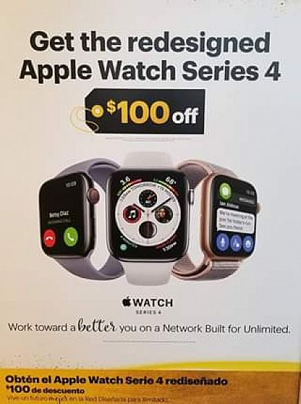 ad apple watches $100 off