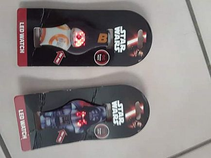 ad star wars led watches