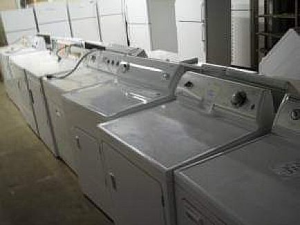 ad stackable laundry centers, washer dryers, stoves fridges