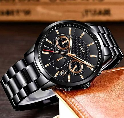 ad mens watches full steel business