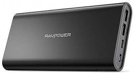ad ➡️usb c portable charger ravpower 26800mah