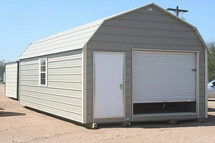 ad spartan unfinished portable building 14 ft x 28 ft