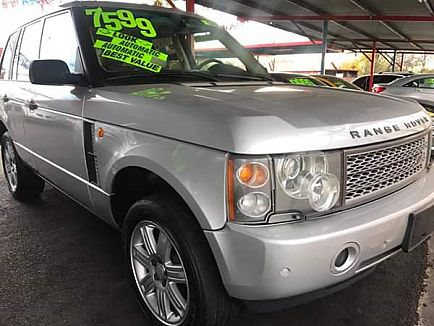 ad 2004 land rover range rover · hse sport utility 4d