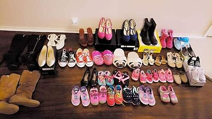 ad shoes!!! diferent sizes and prices, great brands no holds! cash only please