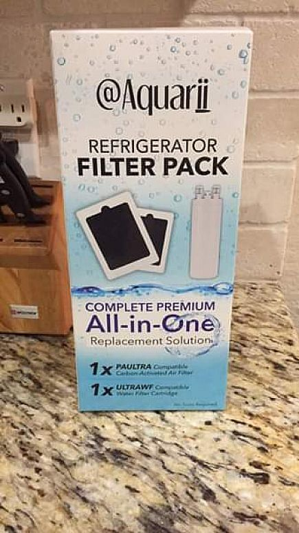 ad refrigerator filter pack. new. not what we needed.